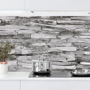 Rivestimento cucina - Effetto pietra muro Arizona