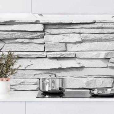 Rivestimento cucina - Effetto pietra Ashlar Masonry