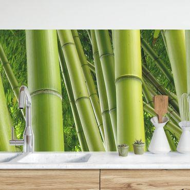 Rivestimento cucina - Rami di bambù