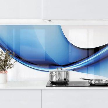 Rivestimento cucina - Conversione Blu