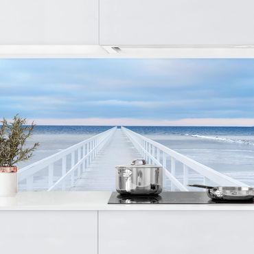 Rivestimento cucina - Ponte In Svezia