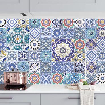 Rivestimento cucina - Elaborate piastrelle portoghesi