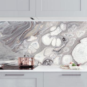 Rivestimento cucina - Roccia fusa I