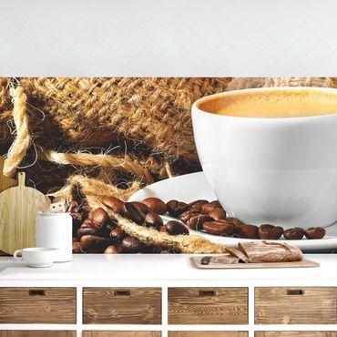 Rivestimento cucina - Il Caffè Del Mattino