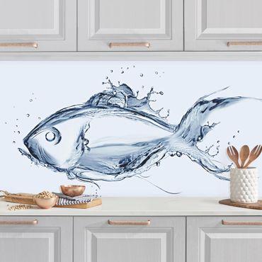 Rivestimento cucina - Pesce D'Argento Liquido II