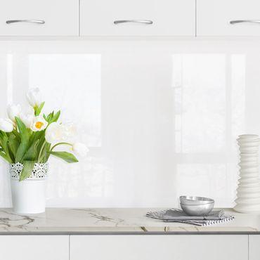 Rivestimento cucina - Bianco polare