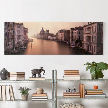 Stampa su tela - Serata a Venezia - Panoramico