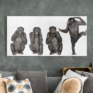 Stampa su tela - Monkey Clique - Orizzontale 2:1