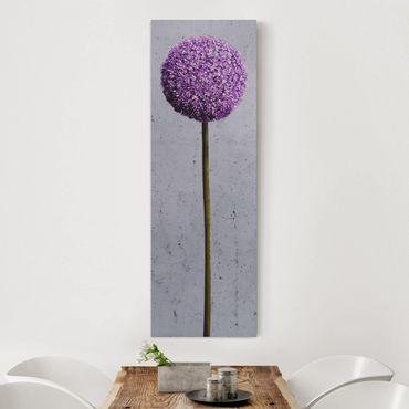 Stampa su tela - Allium Ball Flower - Pannello