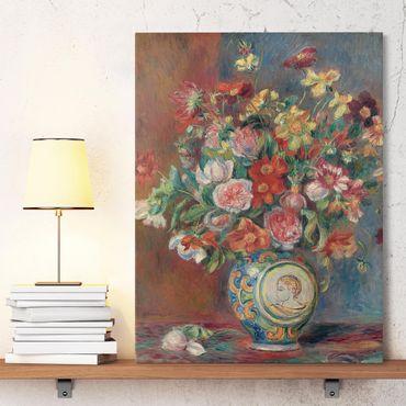 Stampa su tela - Auguste Renoir - Vaso di Fiori - Verticale 3:4