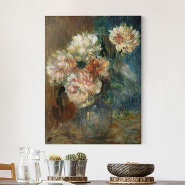 Stampa su tela - Auguste Renoir - Vaso con Peonie - Verticale 3:4