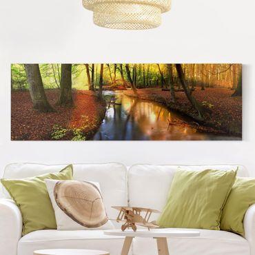 Stampa su tela - Autumn Fairytale - Panoramico