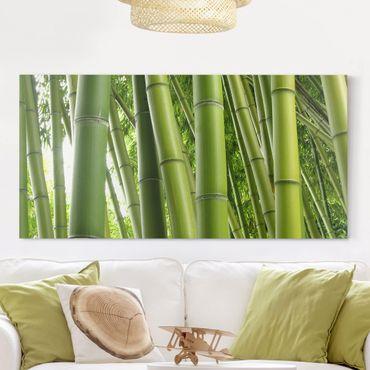 Stampa su tela - Bamboo Trees - Orizzontale 2:1