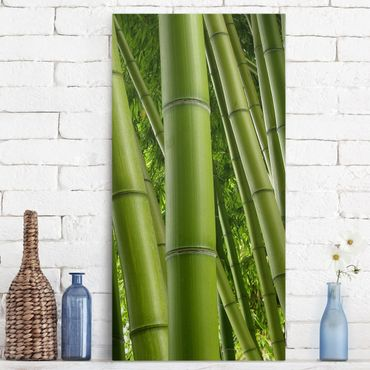 Stampa su tela - Bamboo Trees - Verticale 1:2