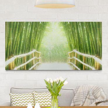Stampa su tela - Bamboo Way - Orizzontale 2:1