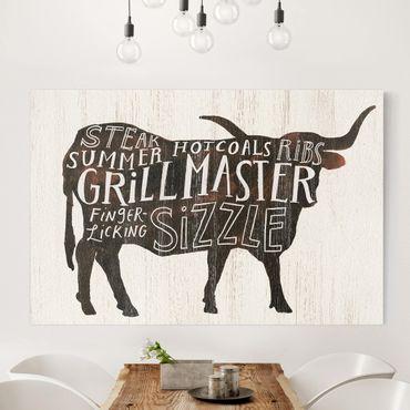 Stampa su tela - Farm BBQ - Manzo - Orizzontale 3:2