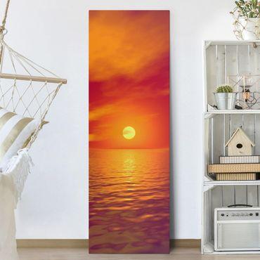 Stampa su tela - Beautiful Sunset - Pannello