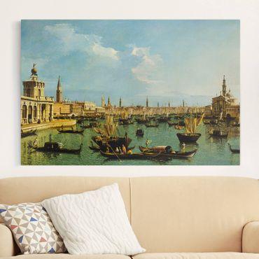 Stampa su tela - Bernardo Bellotto - Bacino di San Marco, Venedig - Orizzontale 3:2