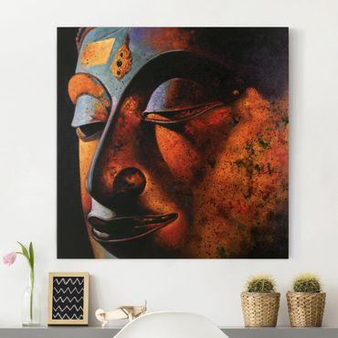 Stampa su tela - Bombay Buddha - Quadrato 1:1