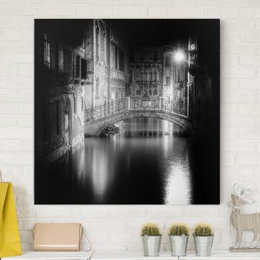 Stampa su tela - Ponte di Venezia - Quadrato 1:1