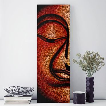 Stampa su tela - Buddha In Tibet - Pannello