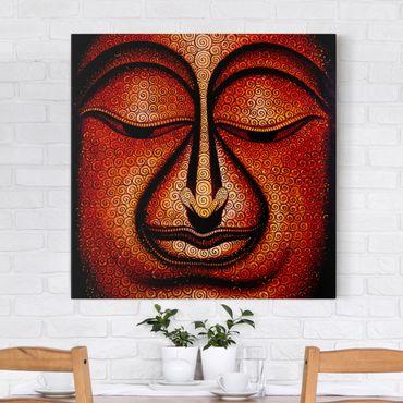 Stampa su tela - Buddha In Tibet - Quadrato 1:1