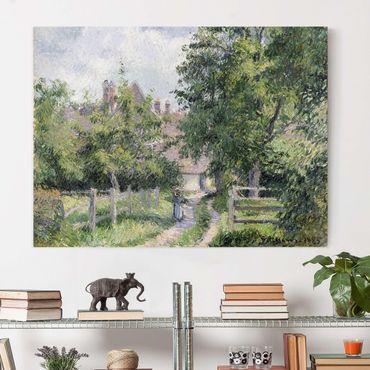 Stampa su tela - Camille Pissarro - Saint-Martin, vicino a Gisors - Orizzontale 4:3