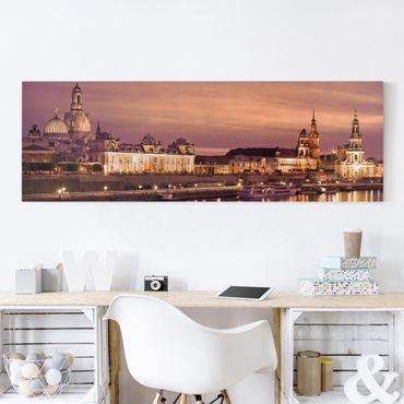 Stampa su tela - Canaletto Dresden - Panoramico