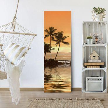 Stampa su tela - Caribbean Sunset I - Pannello