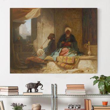 Stampa su tela - Carl Spitzweg - Nel bazar turco - Orizzontale 4:3