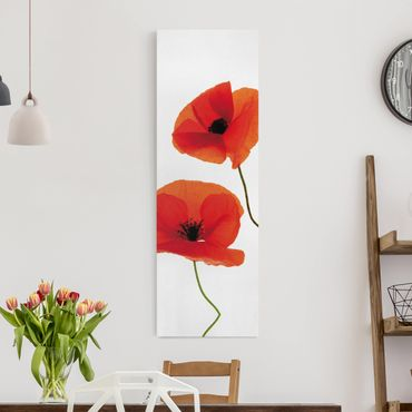 Stampa su tela - Charming Poppies - Pannello