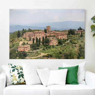 Stampa su tela - Charming Tuscany - Orizzontale 3:2
