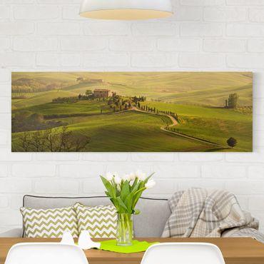 Stampa su tela - Chianti Tuscany - Panoramico