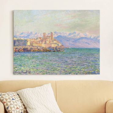 Stampa su tela - Claude Monet - Antibes, Le Fort - Orizzontale 4:3