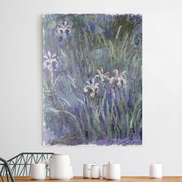 Stampa su tela - Claude Monet - Iris - Verticale 3:4