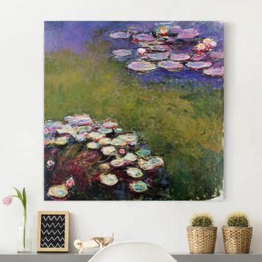 Stampa su tela - Claude Monet - Water Lilies - Quadrato 1:1