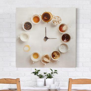 Stampa su tela - Coffee Time - Quadrato 1:1