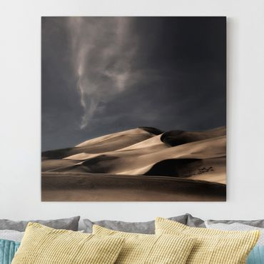 Stampa su tela - Dune Colorado - Quadrato 1:1