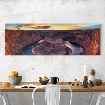 Stampa su tela - Colorado River Glen Canyon - Panoramico