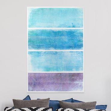 Stampa su tela Colour Harmony Blue - Verticale 2:3