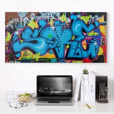 Stampa su tela - Colors Of Graffiti - Orizzontale 2:1