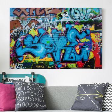 Stampa su tela - Colors of graffiti - Orizzontale 3:2