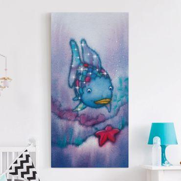 Stampa su tela - Der Regenbogenfisch - The Starfish - Verticale 1:2