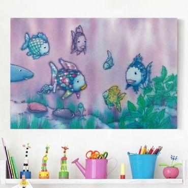 Stampa su tela - The Rainbow Fish - Underwater Paradise - Orizzontale 3:2