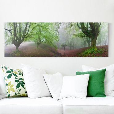 Stampa su tela - La Foresta Marvillador - Panoramico