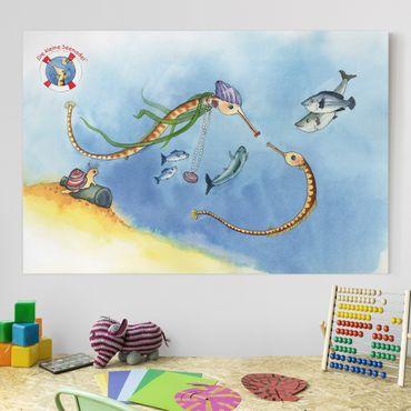 Stampa su tela - The small pipefish © Friends - Orizzontale 3:2
