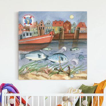 Stampa su tela - The Small Pipefish © Port - Quadrato 1:1