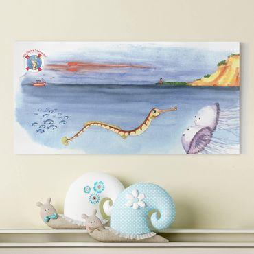 Stampa su tela - The Small Pipefish © Cliff - Orizzontale 2:1