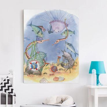 Stampa su tela - Die Kleine Seenadel©The Small Pipefish © Circus - Verticale 3:4