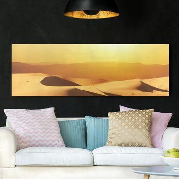Stampa su tela - The Saudi Arabian Desert - Panoramico